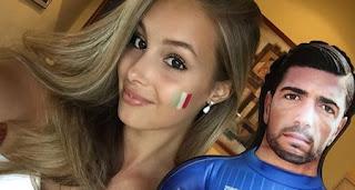 Viktoria Varga fidanzata di Graziano Pellè