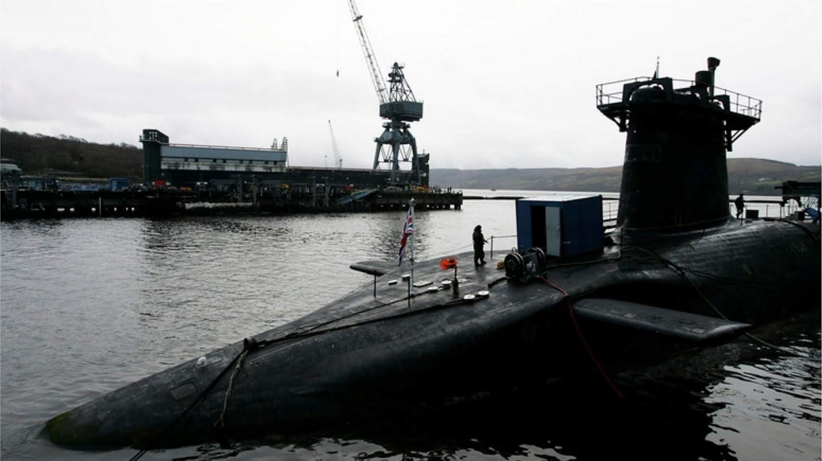 Kapal selam Inggris terancaman tertunda karena tukang las Amerika#