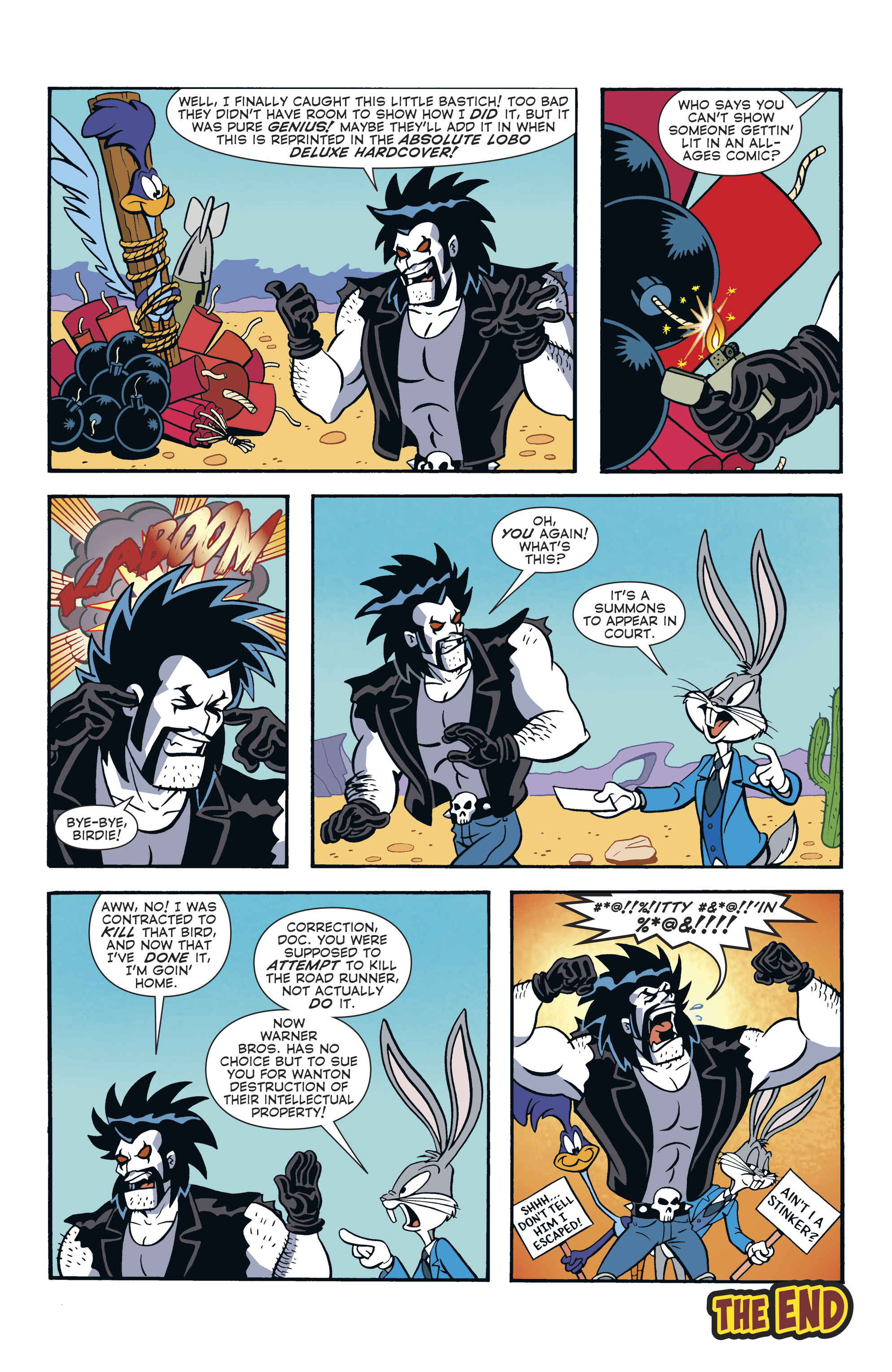 Read online Lobo/Road Runner Special comic -  Issue # Full - 40
