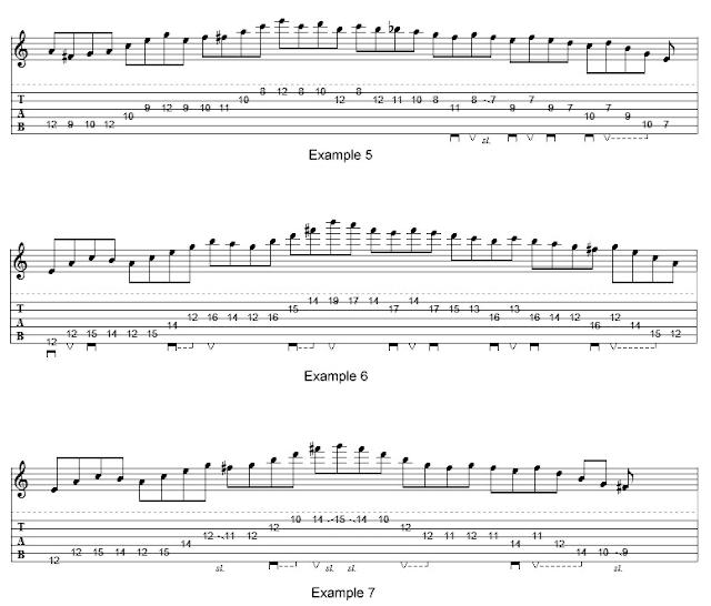 Arpeggio, Chord, fusion, greg howe, lesson, lick, Scale, teknik gitar, belajar arpeggio, belajar melodi, lick gitar,
