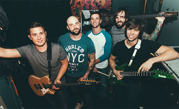 """August Burns Red with Shane Told of Silverstein cover NOFX """"Linoleum"""""""