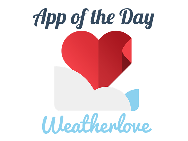 Quick Web Gems: AotD: Weatherlove - A Free Clean & Simple