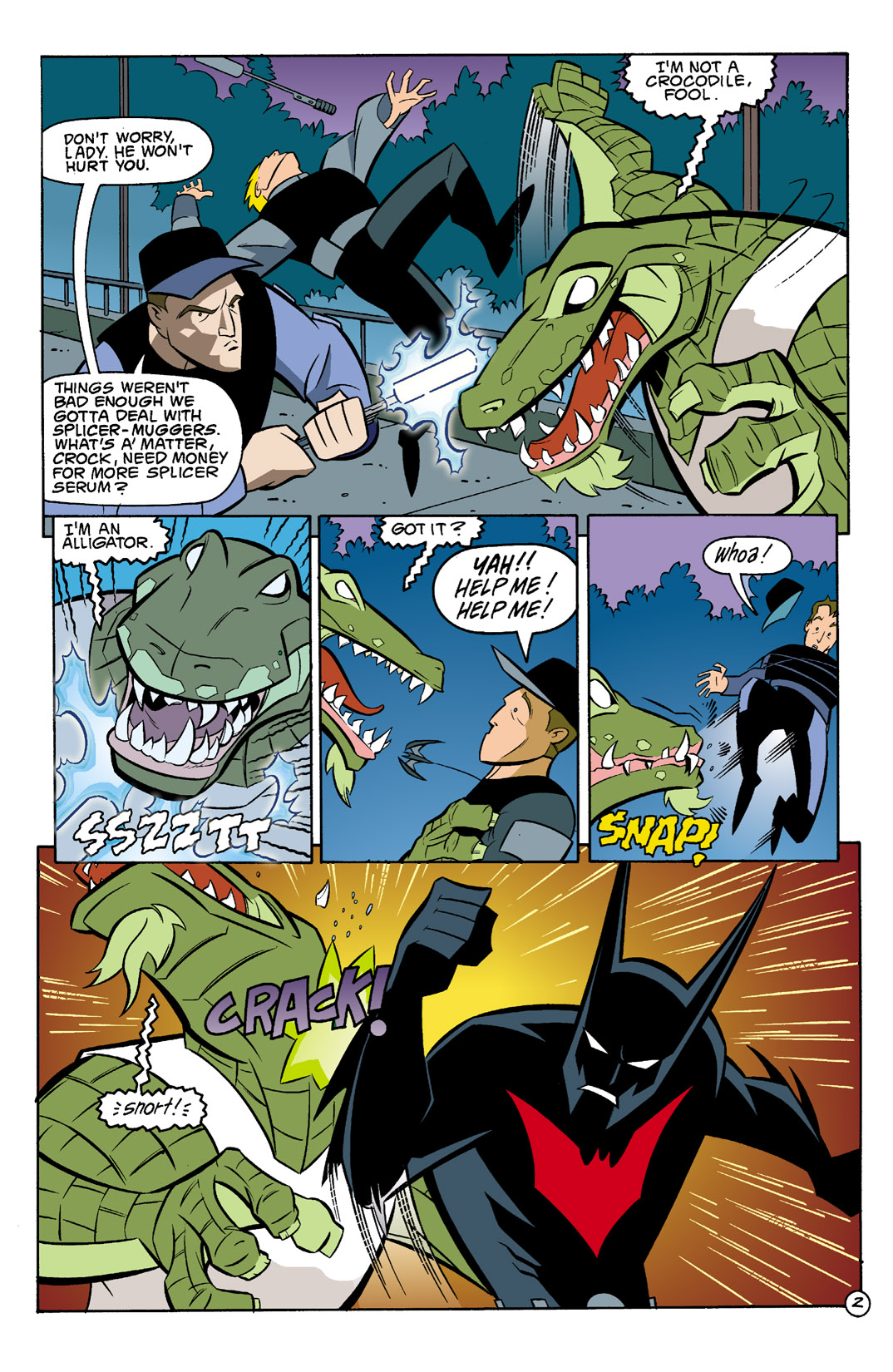Batman Beyond [II] Issue #3 #3 - English 3