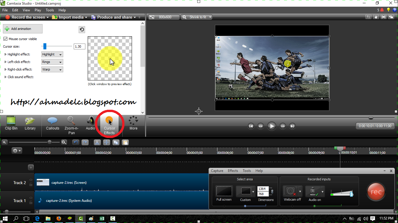 how to make camtasia edit mp4