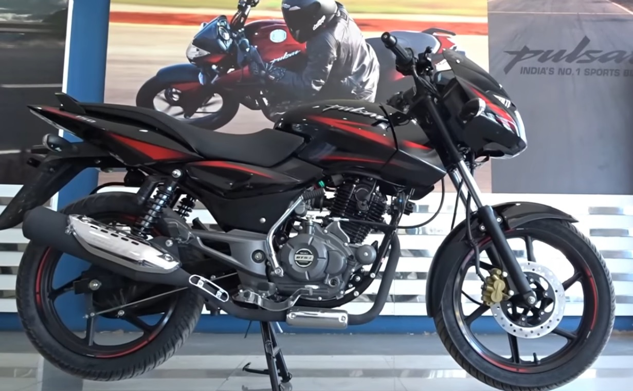 New 2017 bajaj pulsar 150 at showroom image
