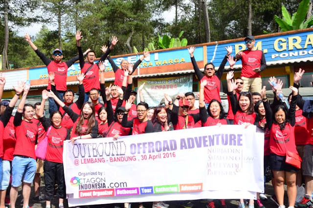 OUTBOUUND OFFROAD DI LEMBANG | Lawyer Retreat