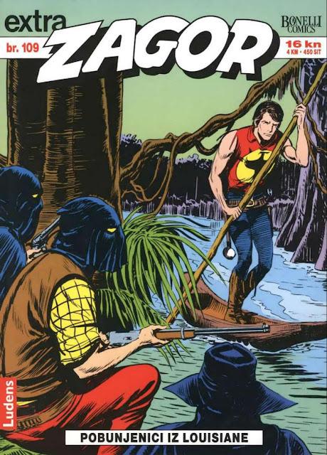 Pobunjenici iz Louisiane (Ludens Extra) - Zagor