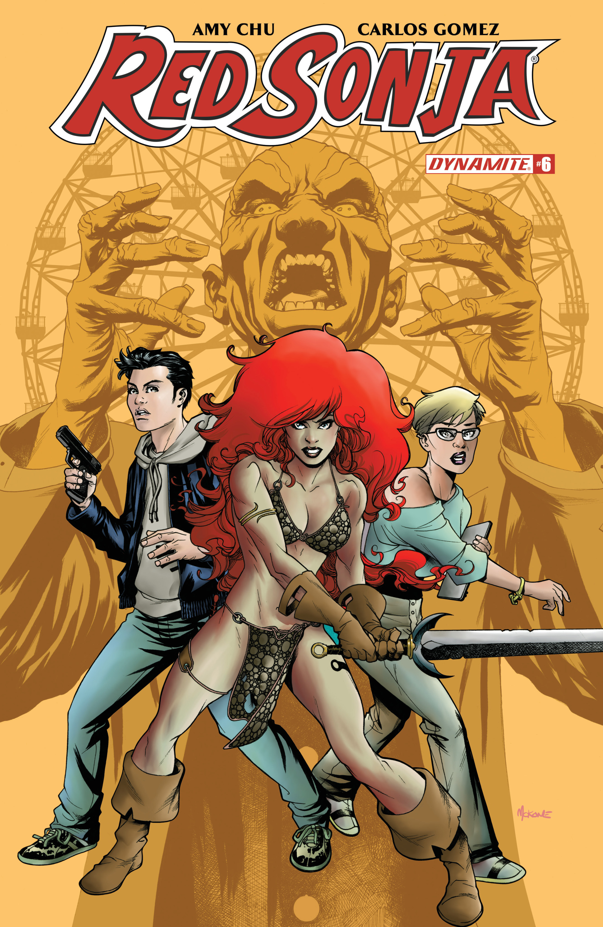 Read online Red Sonja Vol. 4 comic -  Issue #6 - 1