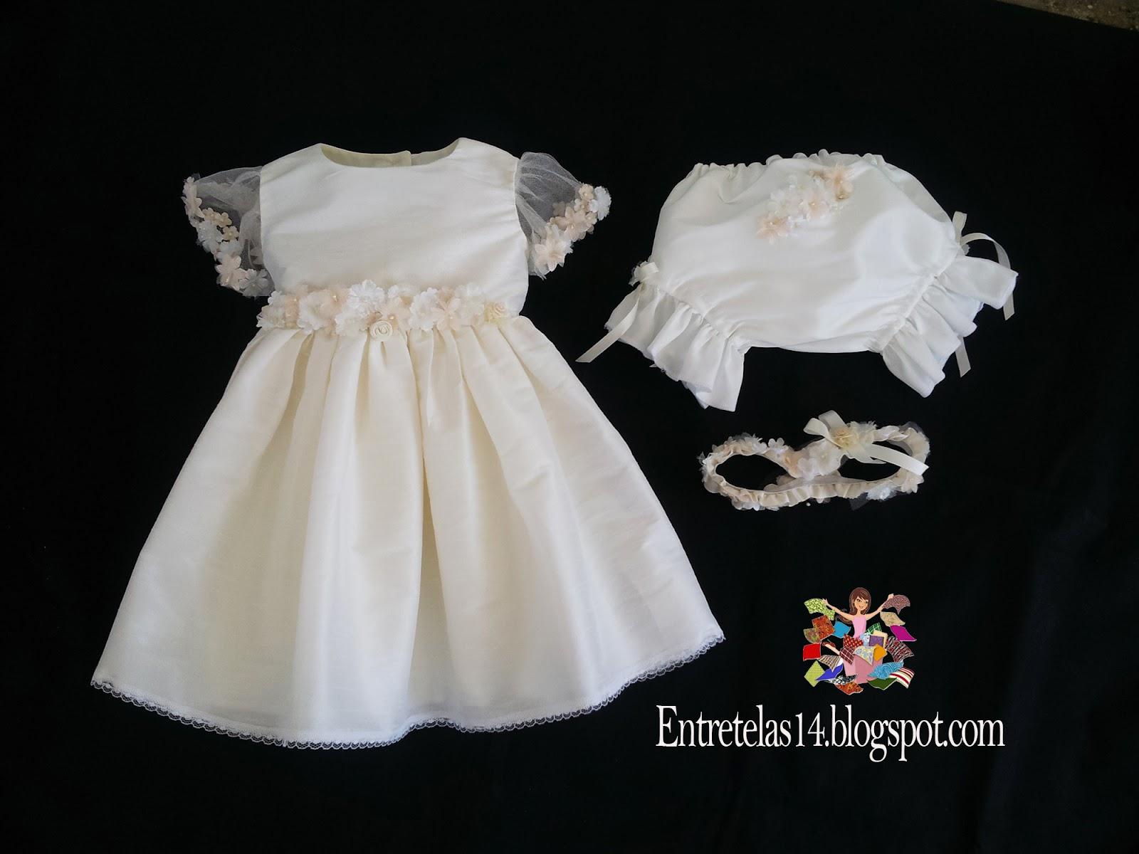450e5e64f ... un vestido de fiesta o bautizo de niña, ahora enseñare a confeccionar  la pantaleta para combinar con el vestido, es muy fácil de confecciónar, ...