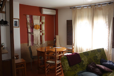 Alojamiento rural en ohanes for Cortinas comedor rustico