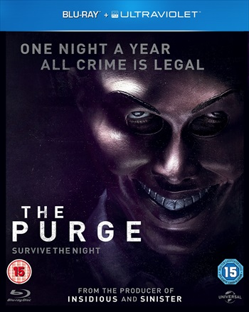 Free Download The Purge 2013 Dual Audio Hindi  BluRay 280mb