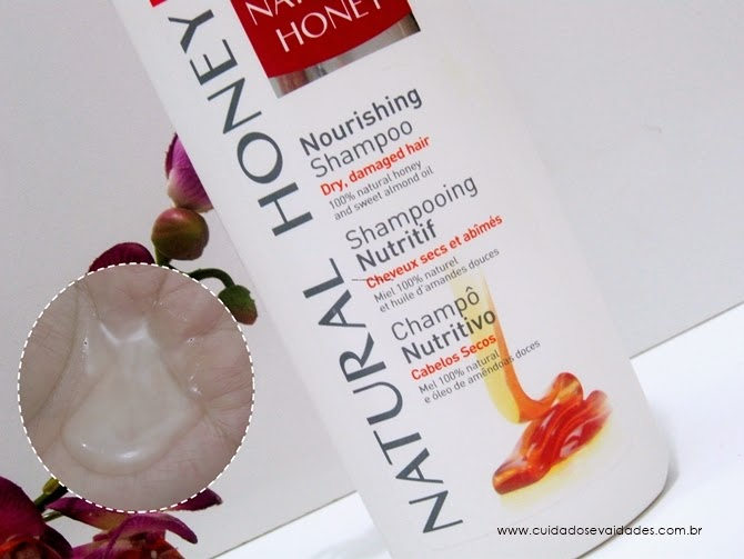 Shampoo Natural Honey