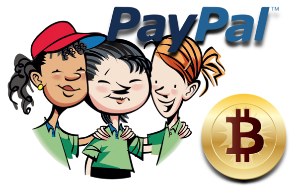 Paypal and bitcoin, ebay and bitcoin, bitcoin exchanges, paypal vs bitcoin