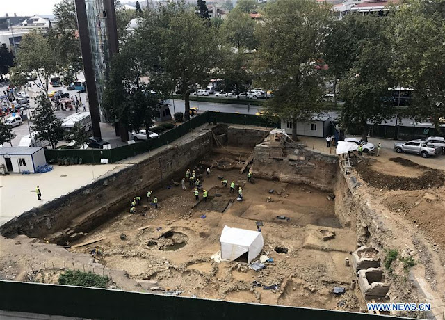6,000-year-old Neolithic remains discovered in central Istanbul