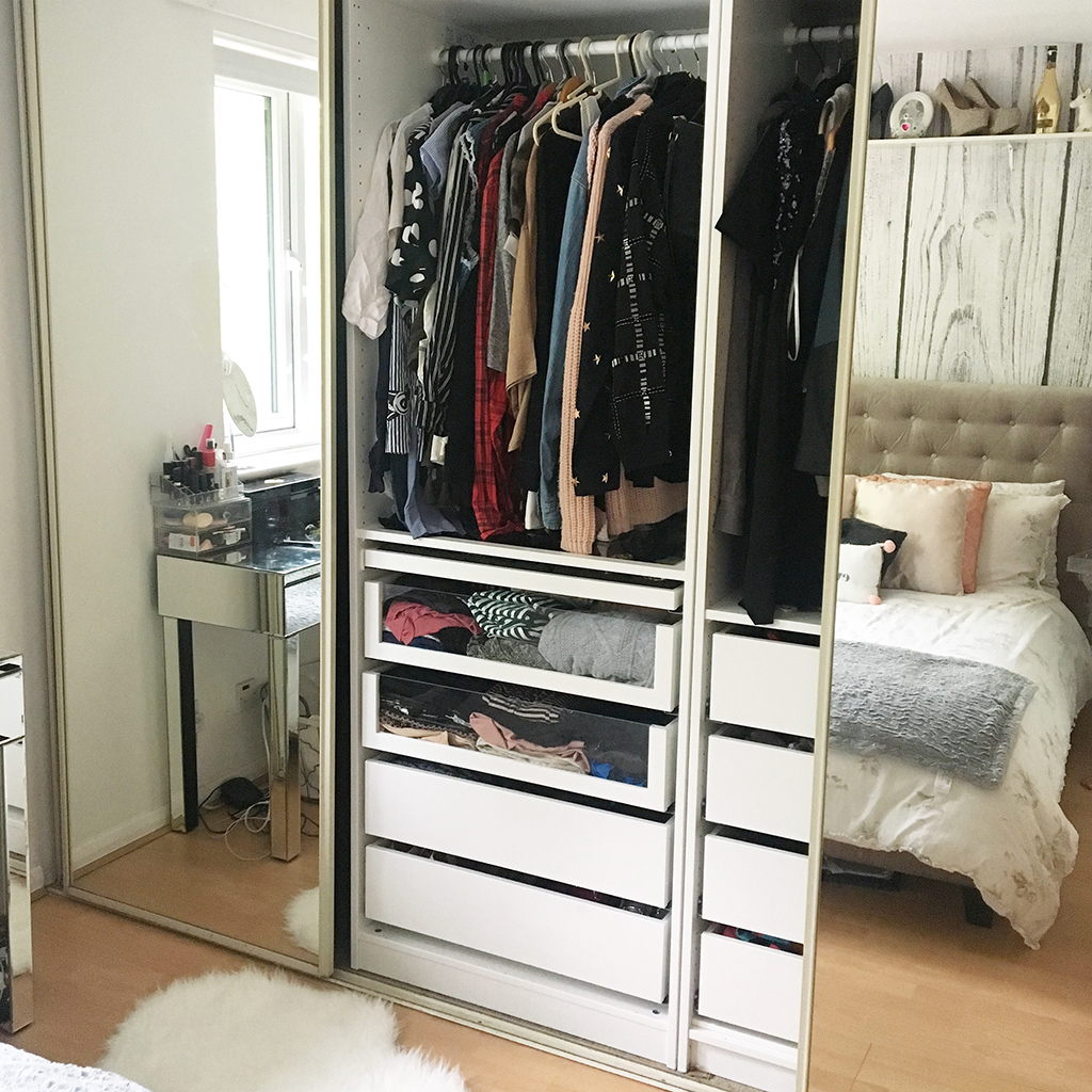 buying an ikea pax wardrobe the southampton girl. Black Bedroom Furniture Sets. Home Design Ideas
