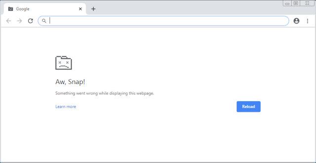 """Thủ thuật khắc phục lỗi """"Aw Snap!"""" trên Google Chrome 78 - CyberSec365.org"""