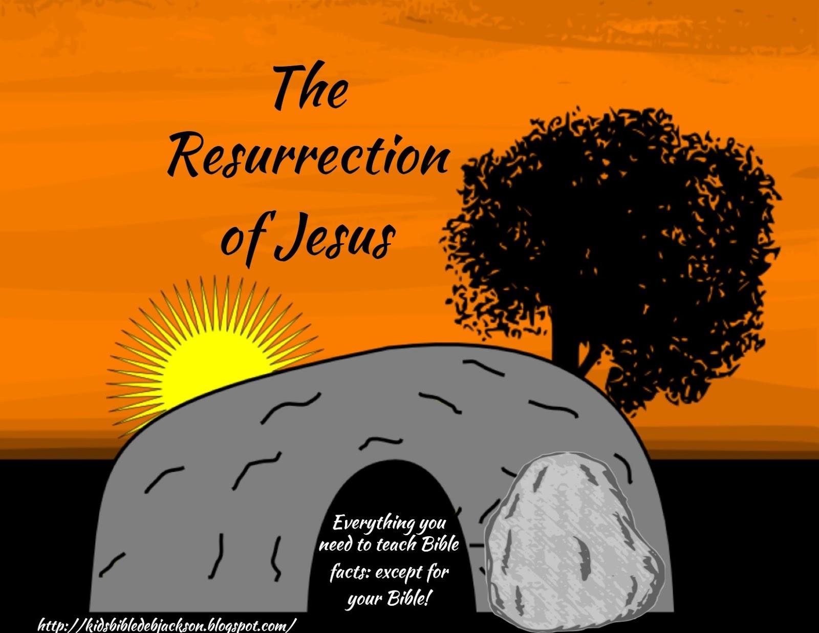 Bible Fun For Kids The Resurrection Of Jesus