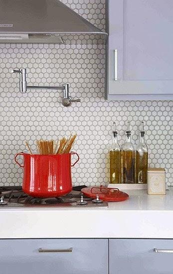 cocina moderna azulejo