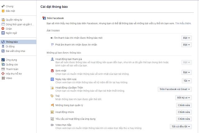 Hướng dẫn cách tắt thông báo Live Stream phiền phức trên Facebook