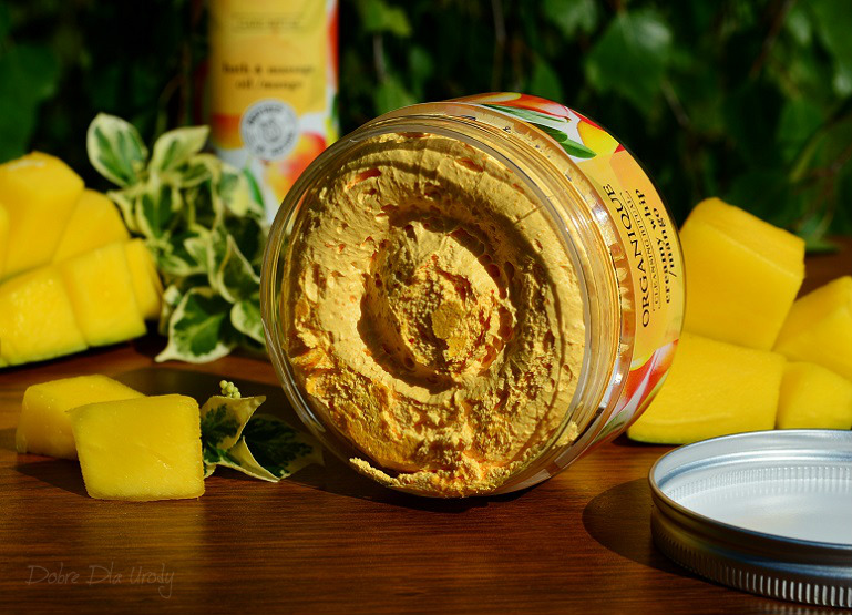 Rytuał Organique o zapachu słodkiego mango -  pianka do mycia ciała