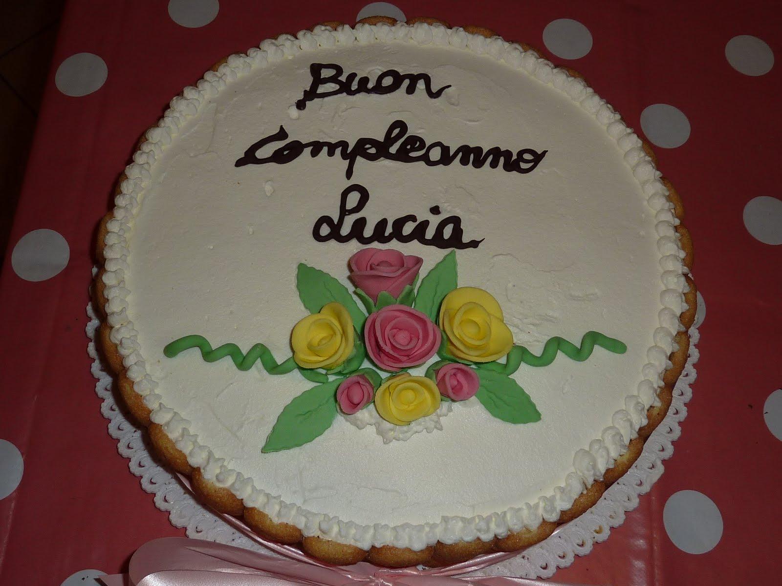 Estremamente Cucina e Fantasia: Torta di compleanno per la nostra Lucia AK46