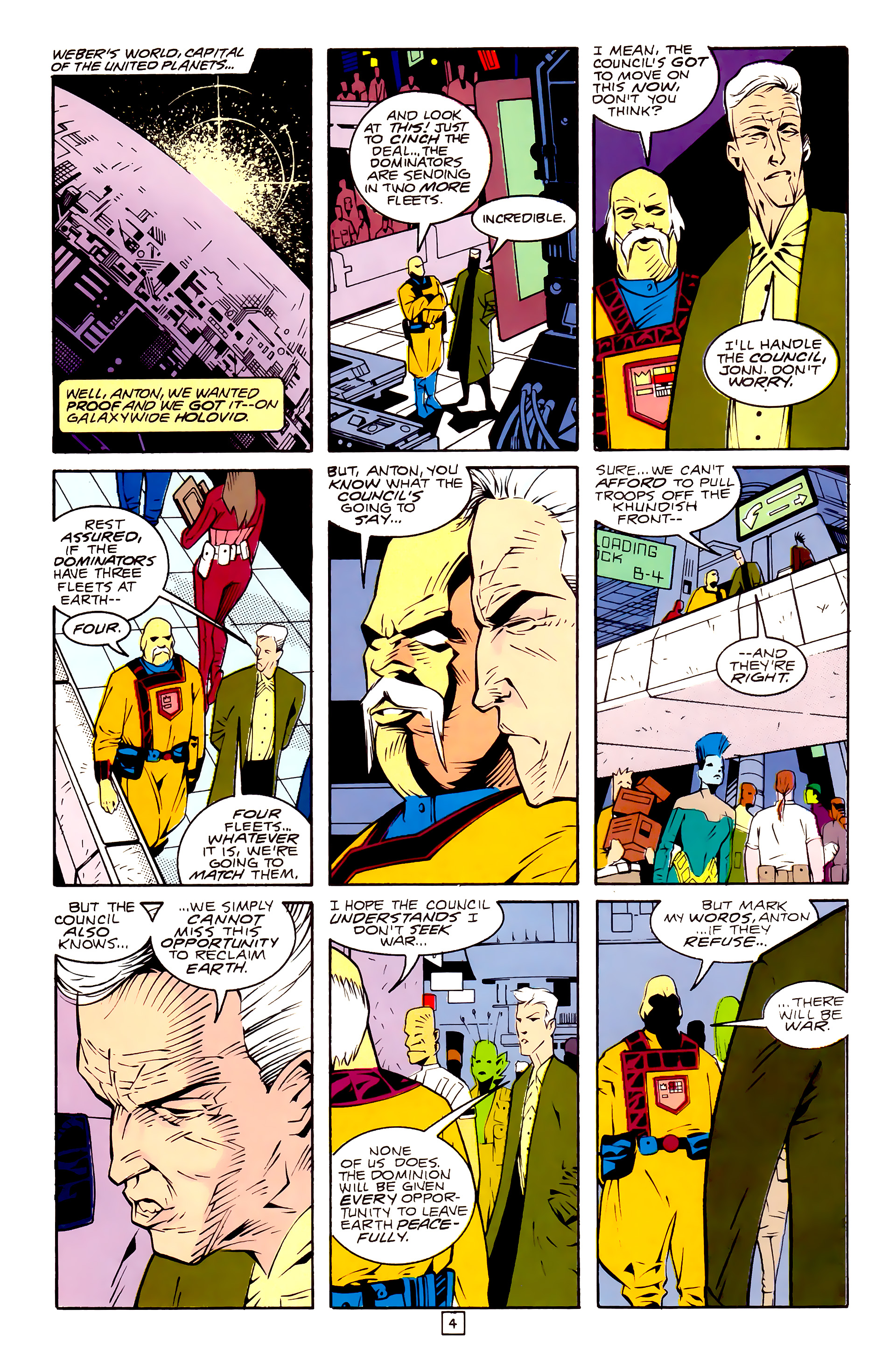 Legion of Super-Heroes (1989) 30 Page 4