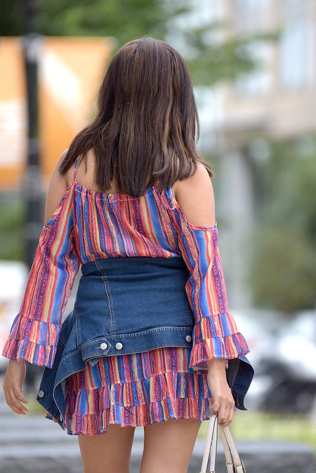 Generation Beauty wearing: Wearing: Dress/Vestido: LightInTheBox Bag/Bolso: Steve Madden Jacket/Chaqueta: Ann Taylor Boots/Botines: Macy's