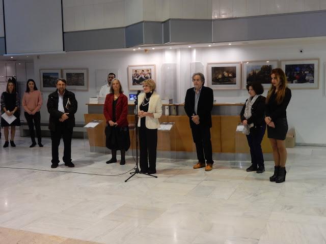 Πραγματοποιήθηκαν τα εγκαίνια της έκθεσης «ΛΟΥΚΑΣ ΒΕΝΕΤΟΥΛΙΑΣ (1930-1984): 33 χρόνια σιωπηλής 'παρουσίας'» στη Δημοτική Πινακοθήκη Λάρισας (ΦΩΤΟ)