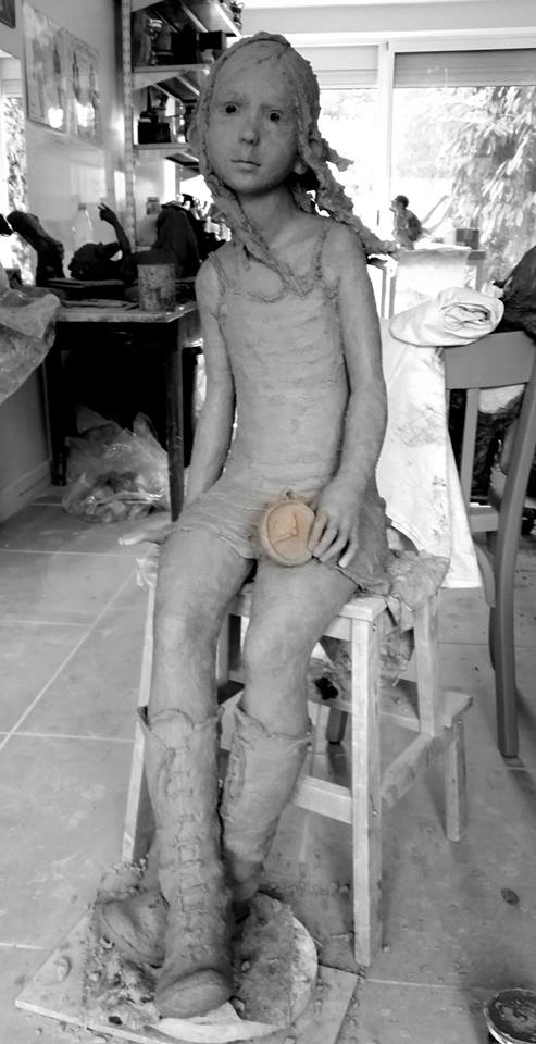 The art of clay and work done on it