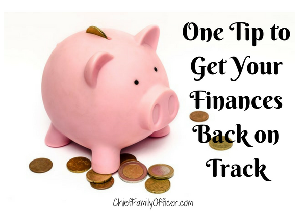 Get Your Finances Back on Track