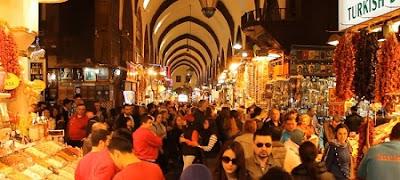 Egyptian Bazaar atau Spice Bazaar