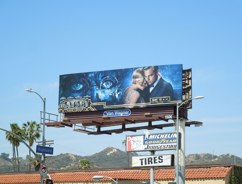 Great Gatsby 2013 remake billboard