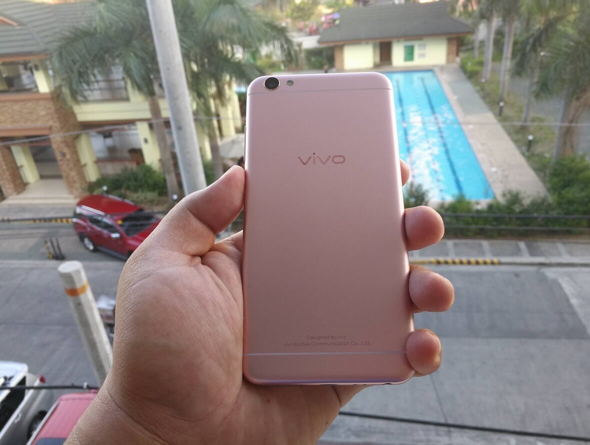 Back of Vivo V5 Lite