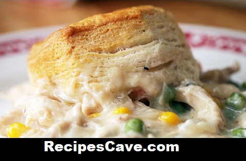 Chicken & Biscuits Bake Recipe