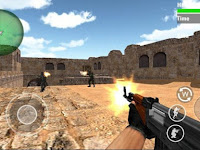 Download SWAT Counter Terrorist Shoot Apk v1.2 Mod (Infinite Coins/Ammo/Running Speed) Terbaru 2017 Gratis