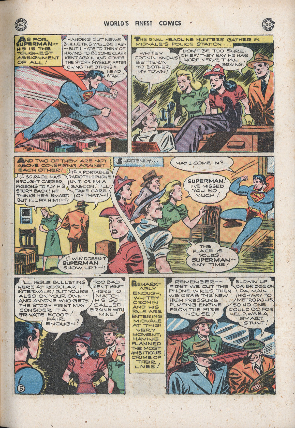 Read online World's Finest Comics comic -  Issue #33 - 7