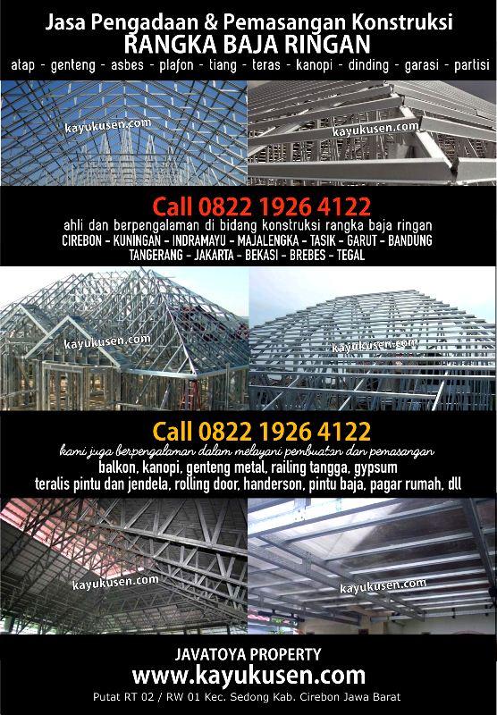 Pemasangan Baja Ringan Di Bandung Rangka Atap Cirebon Call 0822 1926