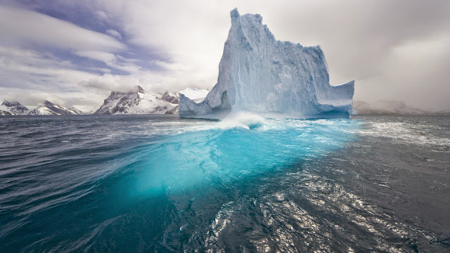 Lake Glacier Ice Wallpaper