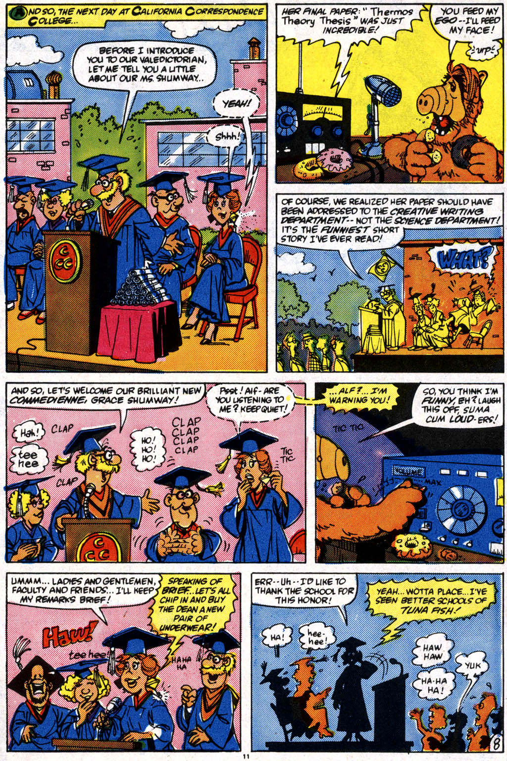 Read online ALF comic -  Issue #10 - 9