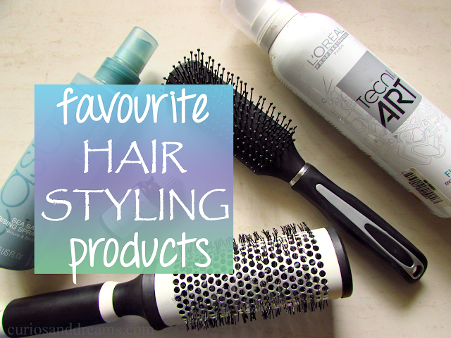 Favourite Hair Styling Products