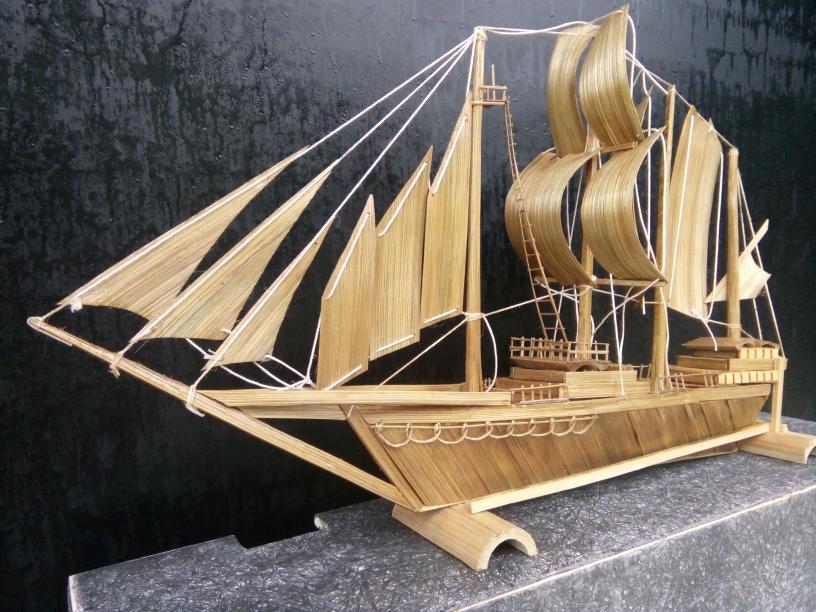 Kerajinan Tangan dari Bambu Dan Cara Membuatnya - Rekreartive