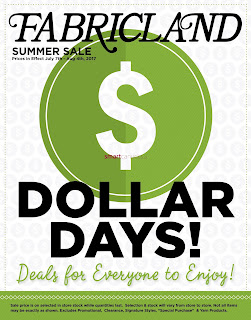 Fabricland Canada Flyer July 7 - August 4, 2017