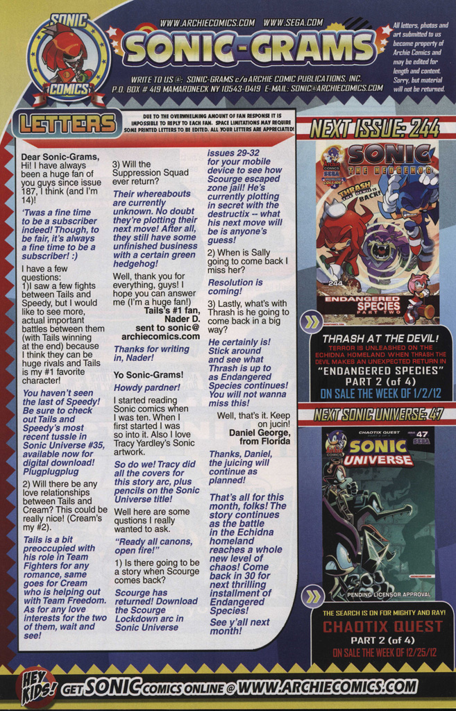 Read online Sonic The Hedgehog comic -  Issue #243 - 34