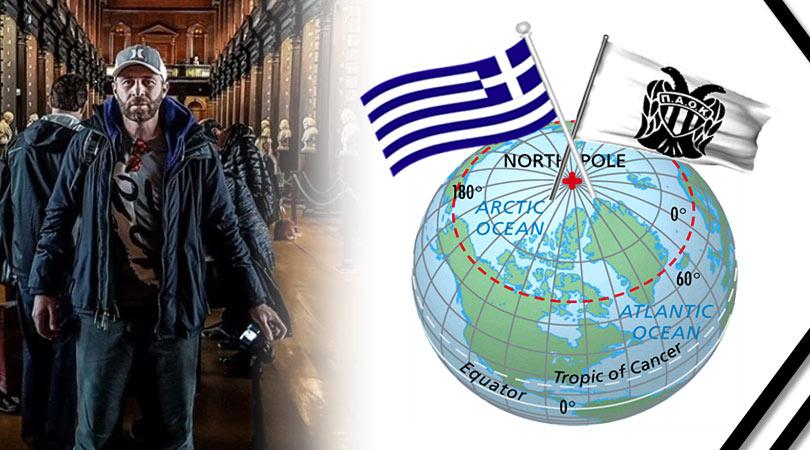 Παοκτσής στον Αρκτικό Κύκλο