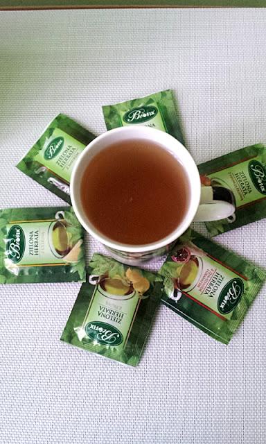 Kompozycja 6 zielonych herbat bifix