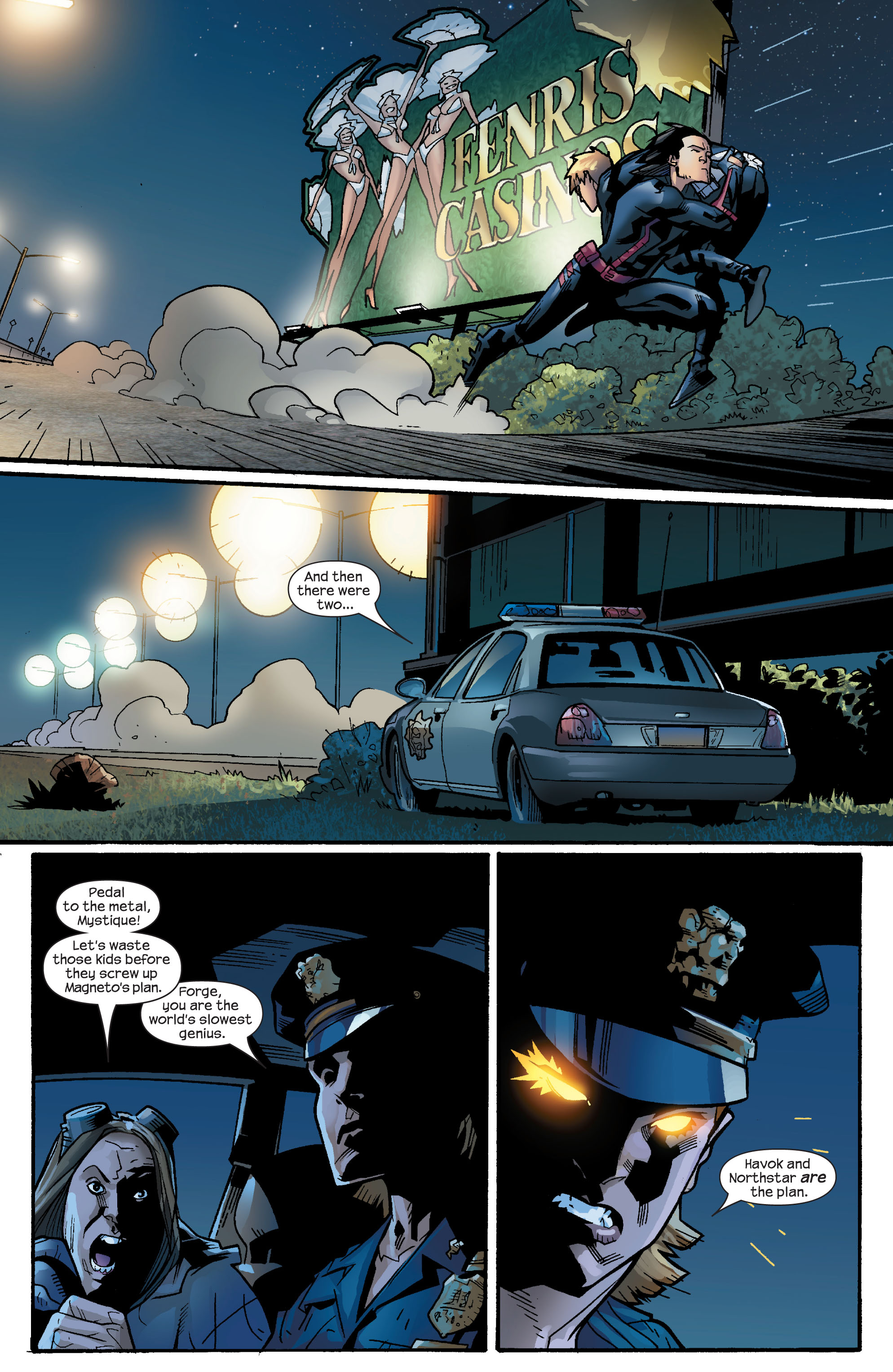 Read online Ultimate X-Men comic -  Issue #63 - 21