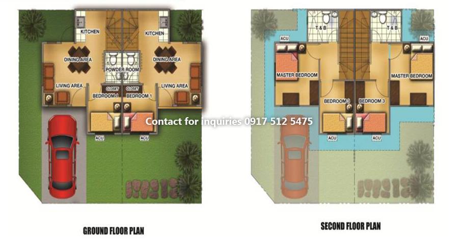 Lancaster New City Cavite Anica Model – City House Floor Plans