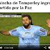 ESPN - UN HINCHA DE TEMPERLEY EN EL PARTIDO DE LA PAZ - 12/10/16