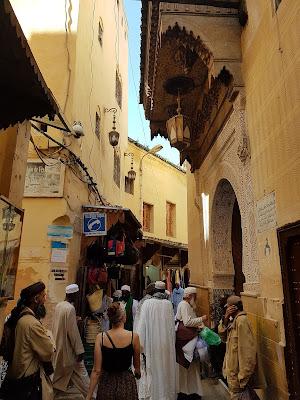 Streets of Fez Medina