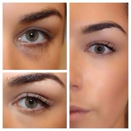 Maquillaje corrector de ojeras